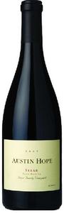 Austin Hope Family Vineyard Syrah 2008, Paso Robles Bottle