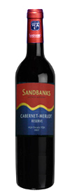 Sandbanks Cabernet Merlot Reserve 2007 2007 Bottle