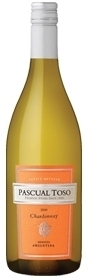Pascual Toso Chardonnay 2010 Bottle