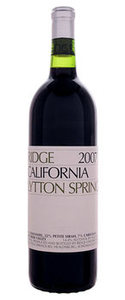 Ridge Lytton Springs 2007, Dry Creek Valley, Sonoma County Bottle