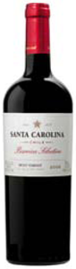 Santa Carolina Barrica Selection Petit Verdot 2008, Rapel Valley Bottle