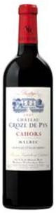 Château Croze De Pys Prestige Malbec Cahors 2007, Ac Bottle