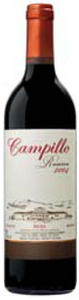 Campillo Reserva 2004, Doca Rioja Bottle