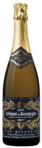 Cave De Lugny Crémant De Bourgogne 2007, Ac, Burgundy, France Bottle