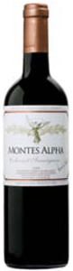 Montes Alpha Cabernet Sauvignon 2008, Colchagua Valley Bottle