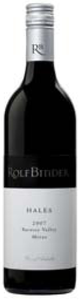 Rolf Binder Hales Shiraz 2007, Barossa Valley, South Australia Bottle