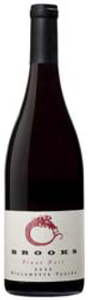 Brooks Pinot Noir 2009, Willamette Valley Bottle