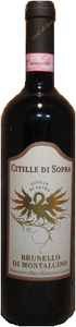 Citille Di Sopra Brunello Di Montalcino 2004, Docg Bottle