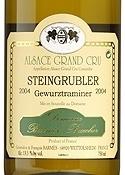 Domaine Barmès Buecher Steingrubler Gewürztraminer 2005, Ac Alsace Grand Cru Bottle