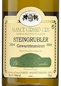 Domaine Barmès Buecher Steingrubler Gewürztraminer 2006, Ac Alsace Grand Cru Bottle