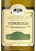 Domaine Barmès Buecher Steingrubler Gewürztraminer 2007, Ac Alsace Grand Cru Bottle