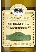 Domaine Barmès Buecher Steingrubler Gewürztraminer 2008, Ac Alsace Grand Cru Bottle