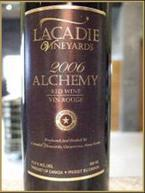 L'acadie Alchemy 2007 Bottle
