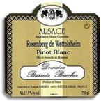 Domaine Barmes Buecher Pinot Blanc Rosenberg 2008, Alsace Bottle