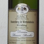 Domaine Barmes Buecher Riesling Rosenberg 2007, Alsace Bottle