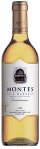 Montes Late Harvest Gewurztraminer 2008, Curicó Valley Bottle