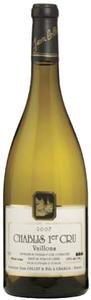 Domaine Jean Collet & Fils Chablis Vaillons 1er Cru 2007, Ac Bottle