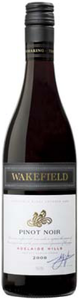 Wakefield Estate Pinot Noir 2009, Clare Valley/Adelaide Hills, South Australia Bottle