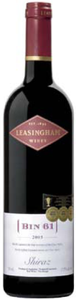 Leasingham Bin 61 Shiraz 2005, Clare Valley, South Australia Bottle
