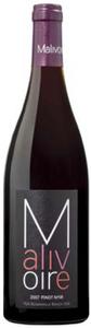 Malivoire Pinot Noir 2007, VQA Beamsville Bench, Niagara Peninsula Bottle