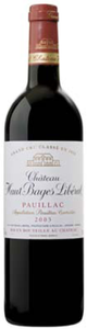 Château Haut Bages Libéral 2003, Ac Pauillac Bottle