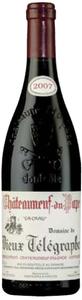Domaine Du Vieux Télégraphe Châteauneuf Du Pape 2007, Ac, La Crau Bottle