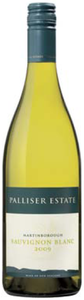 Palliser Estate Sauvignon Blanc 2009, Martinborough Bottle