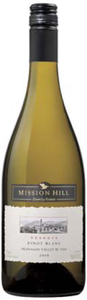 Mission Hill Reserve Pinot Blanc 2008, VQA Okanagan Valley Bottle