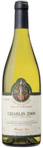 Domaine Hervé Azo Chablis 2008, Ac Bottle