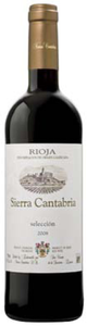 Sierra Cantabria Selección 2008 Bottle