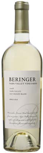 Beringer Sauvignon Blanc 2008, Napa Valley Bottle