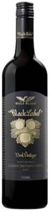 Wolf Blass Black Label Cabernet Sauvignon/Shiraz 2005, South Australia Bottle