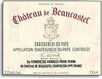 2005 Chateau De Beaucastel Bottle