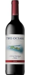 Two Oceans Cabernet Sauvignon Merlot 2010, Western Cape Bottle