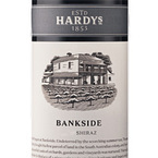 Hardys Bankside Shiraz 2008, South Australia Bottle