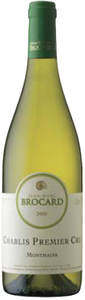 Jean Marc Brocard Chablis Montmains 1er Cru 2008, Ac Bottle