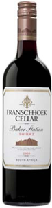 Franschhoek Cellars Baker Station Syrah 2008, Wo Coastal Region Bottle