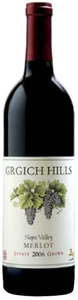 Grgich Hills Estate Merlot 2006, Napa Valley Bottle