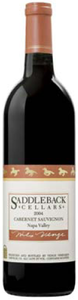 Saddleback Cellars Cabernet Sauvignon 2004, Napa Valley Bottle