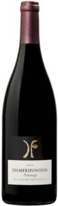 Diemersfontein Pinotage 2009, Wo Wellington Bottle