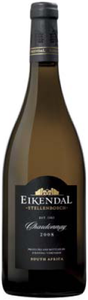 Eikendal Vineyards Reserve Chardonnay 2008, Wo Stellenbosch Bottle