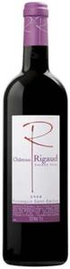 Château Rigaud 2008, Ap Faugères Bottle