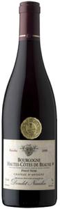 Doudet Naudin Pinot Noir Bourgogne Hautes Côtes De Beaune 2008, Ac, Château D'antigny  Bottle