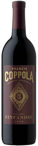 Francis Coppola Diamond Collection Red Label Zinfandel 2008, California Bottle