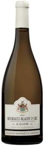 Domaine Martelet De Cherisey Meursault Blagny La Genelotte Premier Cru 2007 Bottle
