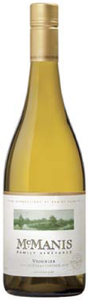 Mcmanis Family Vineyards Viognier 2009, California Bottle