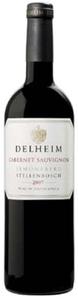 Delheim Cabernet Sauvignon 2007, Wo Stellenbosch Bottle