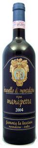Fattoria La Lecciaia Vigna Manapetra Brunello Di Montalcino 2004 Bottle
