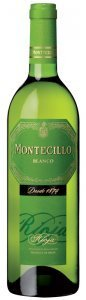 Montecillo Blanco 2009 Bottle