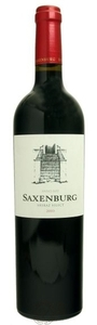 Saxenburg Special Reserve Shiraz 2003 Bottle